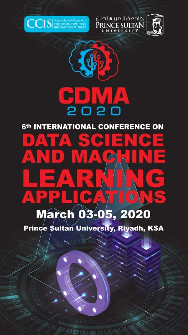 The 6TH INTERNATIONAL CONFERENCE ON DATA SCIENCE AND MACHINE LEARNING APPLICATIONS