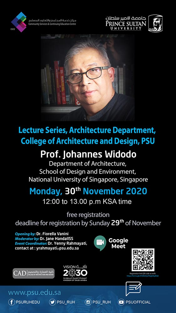 Lecture Series, Architecture Department