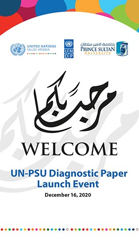 UN-PSU Diagnostic Paper Launch Event