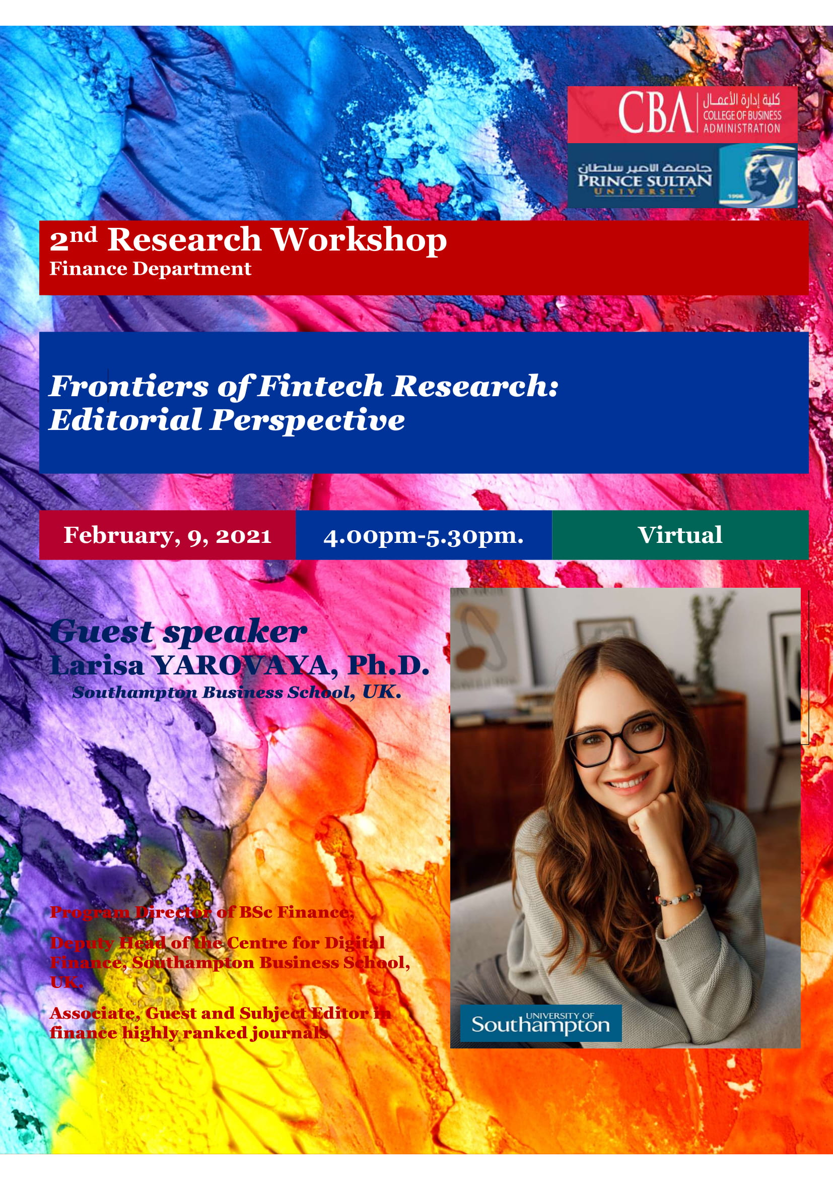 2nd Finance Research Workshop
