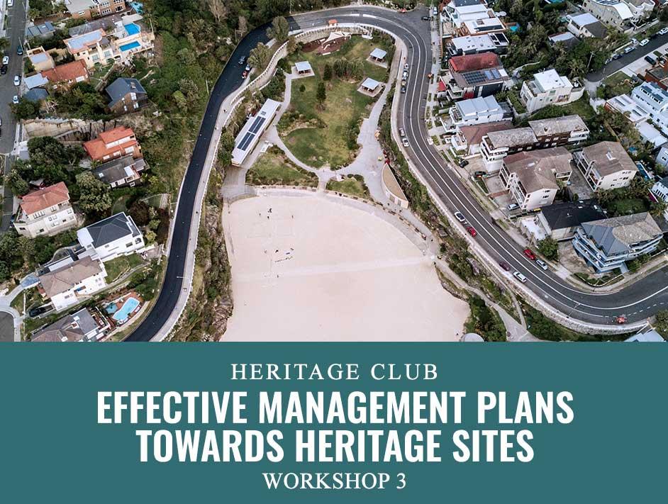 Effective Management Plans towards heritage Sites