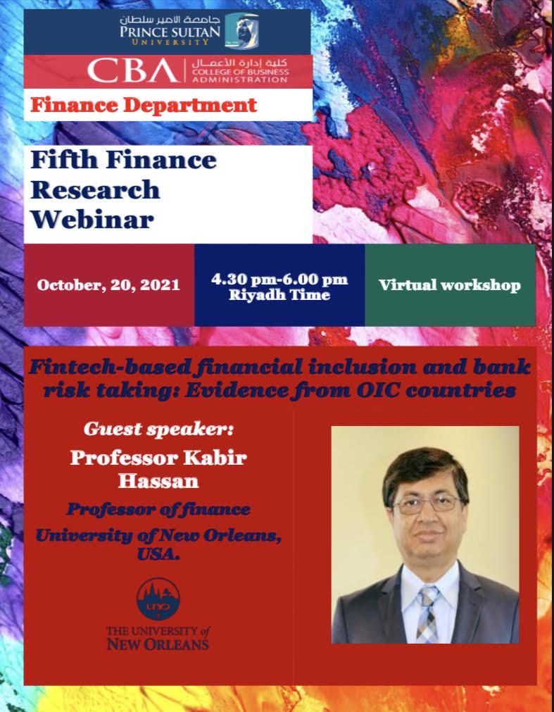 5th Finance Research Seminar