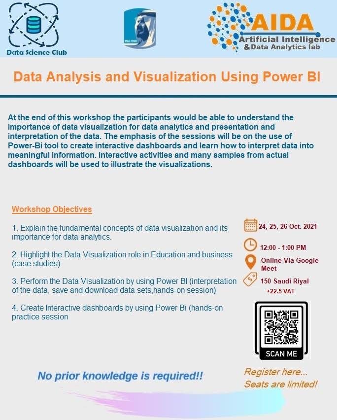 Training Data Analysis and Visualization Using Power BI