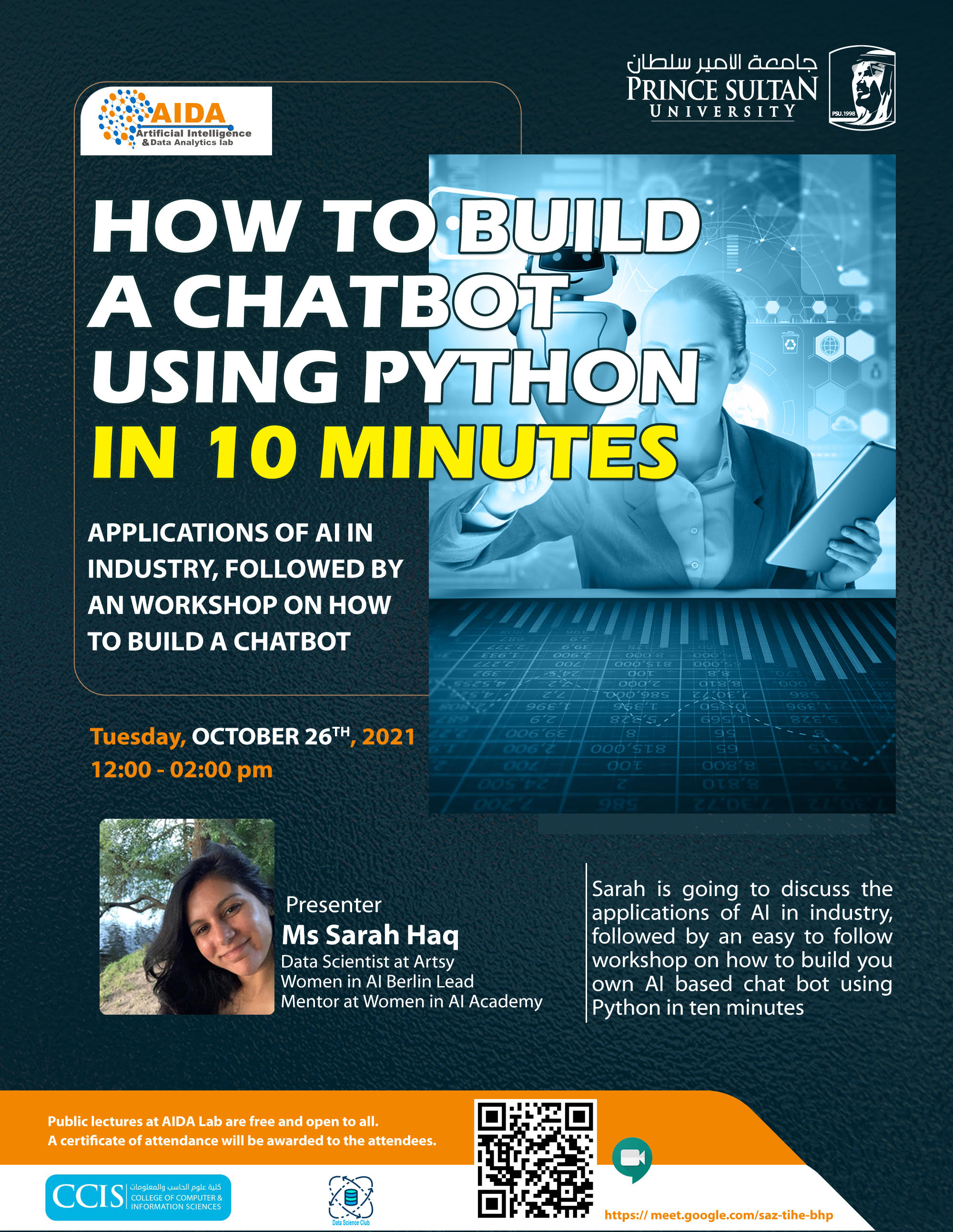 Build a Chatbot Using Python, A Hands-On Session