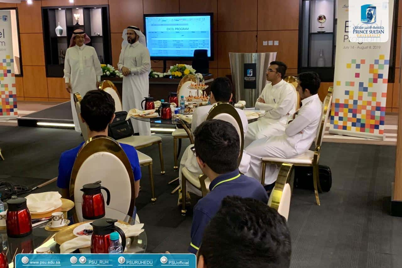 "PSU's Community Service and Continuing Education Center Organizes a Preparatory Course Concerning Life Skills and Languages for ""26"" of SABIC Scholarship Students"