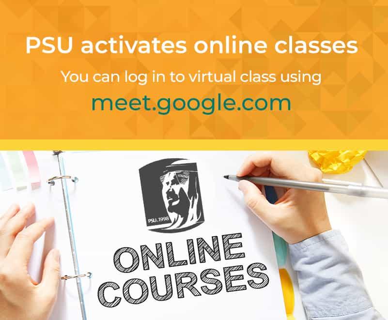 PSU activates online classes