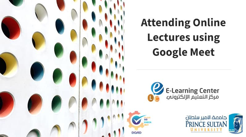 Students' guide for attending Online Lecture