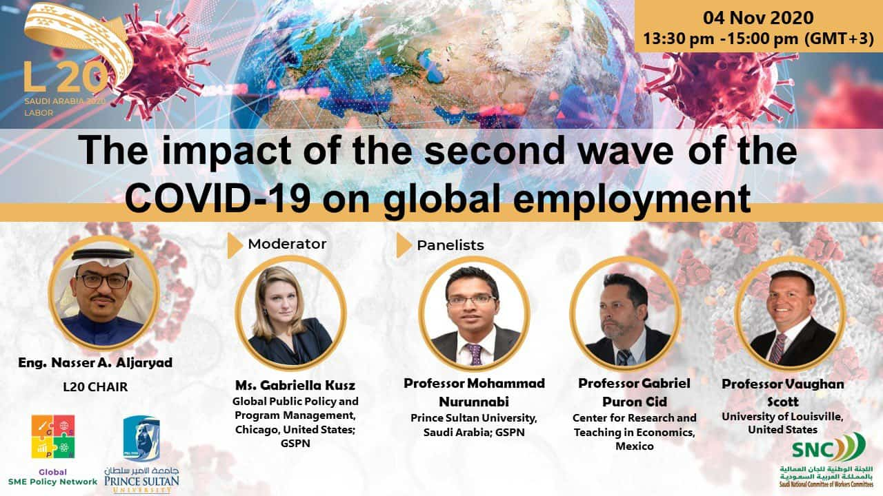The impact of the second wave of the COVID-19 on global employment