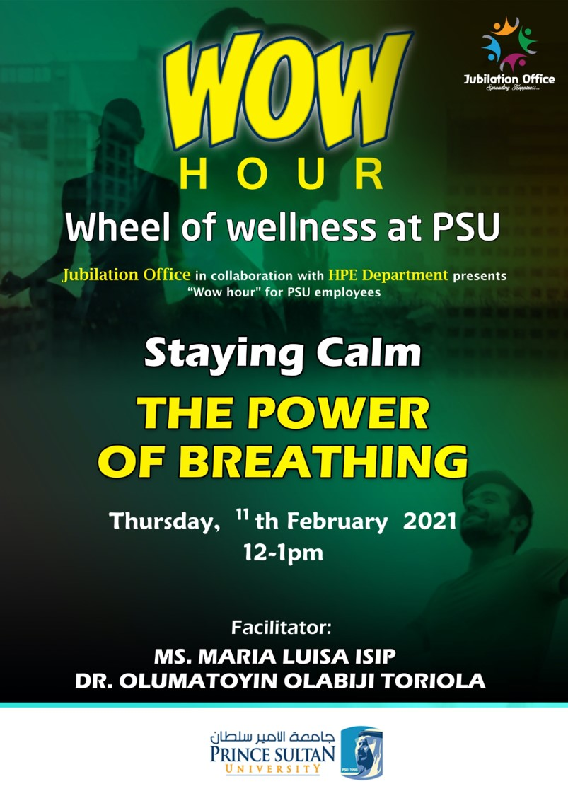 Stay Calm, the Power of Breathing
